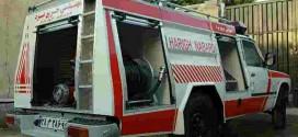 خودرو آتش نشانی پیشرو