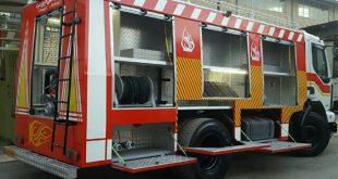 اجاره کامیون آتشنشانی رنو میدلام