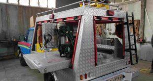 ماشین آتش نشانی پیشرو نجات