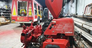 تعمیر پمپ پرتابل آتشنشانی rosenbauer